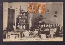 CPA 30 - LA BAUME - La Baume Par POULX - Un Coin De La Salle à Manger De L'Hostellerie - TB PLAN Intérieur 1929 - Otros Municipios