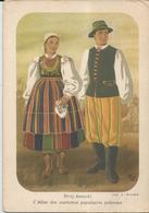 COSTUMI POLACCHI - SOCIETE POLONAISE D'ETHNOLOGIE (585) - Costumi