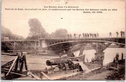 08 SEDAN - Pont De La Gare Reconstruit En Bois. - Sedan