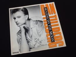 Vinyle 45 Tours  Dan Tillberg   Hollyday On The Moon (1986) - Vinyles