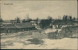 Postcard Kruglinnen (b. Lötzen) Kruklin (Giżycko) Stadtpartie 1914 - Ostpreussen