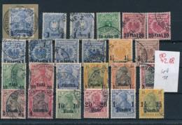D.-Post -Türkei  - Nettes Dubletten Lot Stempel /Typen -unterschiedlich    (oo7218  ) Siehe Scan - Officina: Turquia