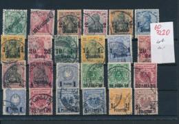D.-Post -Türkei  - Nettes Dubletten Lot Stempel /Typen -unterschiedlich    (oo7220  ) Siehe Scan - Officina: Turquia