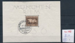 D.-Reich Nr.  Block 4  O  (zu488  ) Siehe Scan - Deutschland