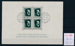 D.-Reich Nr.  Block 7  O  (zu486  ) Siehe Scan - Deutschland