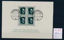 D.-Reich Nr.  Block 7  O  (zu429  ) Siehe Scan - Blocks & Kleinbögen