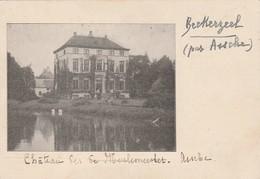 Asse ;  ASSCHE ( Beckerzeel );   Chateau Des De Meulemeester ; FOTOKAART ,Photocarte ,VOIR VERSO - Asse