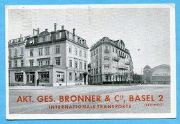 Akt. Ges. Bronner & Cie., Basel 1939 - BS Bâle-Ville
