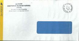 Cachet Manuel - Direction Du Transport National - Postmark Collection (Covers)