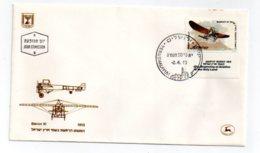 Israel - Premier Jour -Avion - Bleriot XI-- Voir état - Israel
