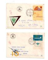 Israel - Affranchissement Sur 4 Enveloppes-- Voir état - Israel