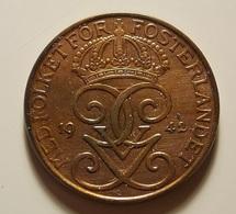 Sweden 5 Ore 1942 Varnished - Suède