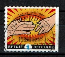De Vrijwilliger, Rechts Ongetand, 2011 (OBP 4103a ) - Belgique