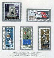 Malta - 1969 - 5° Anniversario Dell'Indipendenza - 5 Valori - Nuovi - Vedi Foto - (FDC14023) - Malta
