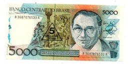 Brasil - 5000 Cruzados--voir état - Brésil
