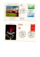 5-France - 4 Enveloppes Premier Jour--voir état - FDC