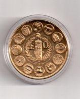 Médaille - Europa III-Ecu 1989--voir état - Monétaires / De Nécessité