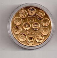 Médaille - Europa III-Ecu 1986--voir état - Monétaires / De Nécessité