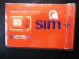 SIM   GSM  UNITEL   CABO  VERDE   TOP  MINT - Cape Verde