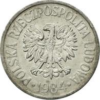 Monnaie, Pologne, 50 Groszy, 1984, Warsaw, TB+, Aluminium, KM:48.1 - Pologne