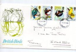 British Birds-voir état - FDC