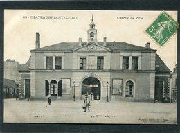 CPA - CHATEAUBRIANT - L'Hôtel De Ville, Animé - Châteaubriant