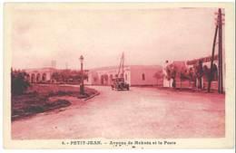 Cpa Maroc - Petit-Jean - Avenue De Meknès Et La Poste - Maroc
