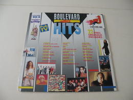 Boulevard Des Hits 22 Titres Originaux - (Titres Sur Photos) - Vinyle 33 T LP Double Album - Hit-Compilations