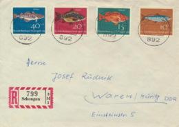 BRD 412/15 Auf R-FDC In Die DDR - BRD