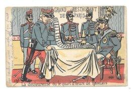 LA DOULOUREUSE OU LE QUART D HEURE DE RABELAIS  MILITARIA SATIRIQUE - War 1914-18