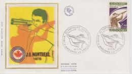 FDC ANDORRE  JEUX OLYMPIQUES DE MONTREAL 1976 - Estate 1976: Montreal