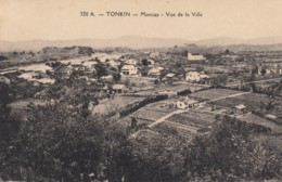CPA - Moncay - Vue De La Ville - Vietnam
