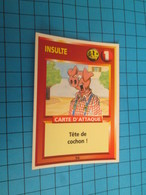 "1551-1575 : TRADING CARD 1991 JEU ""CANAILLES"" PANINI / INSULTE - TETE DE COCHON - Trading Cards"