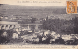 Saint Germain En Laye (78) - Le Viaduc - Le Pont Du Chemin De Fer Et Vue Générale Du Pecq - St. Germain En Laye