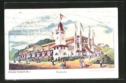 AK St. Gallen, Eidgen. Schützenfest 1904, Festhütte - SG St. Gall