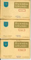 29 CP Types Ruanda Urundi Jos Dardenne 3 Carnets Série 2 K1 à 3. Vers 1930 Ethnographie Rwanda Burundi - Ruanda-Urundi