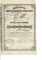 54-SALINES DE LANEUVEVILLE DEVANT NANCY. 1870. - Other