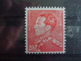 Belgique. 848B**Poortman 20 Fr Rouge - 1936-1951 Poortman