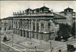 CI 24 - TORINO - PIAZZA CASTELLO E PALAZZO MADAMA - CIRCOLATA  1963 - Palazzo Madama