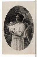 CP PHOTO - MÈRE ET ENFANT - Personnes Anonymes