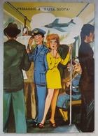 PASSAGGIO A BASSA QUOTA (Pilota Aviazione) - Humor Vignetta Caricatura Karikatur Dessin - Humor