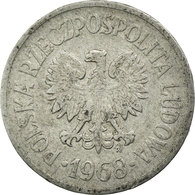 Monnaie, Pologne, 10 Groszy, 1968, Warsaw, TB+, Aluminium, KM:AA47 - Pologne