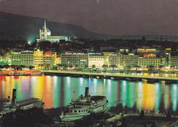 SUISSE,SCHWEIZ,SVIZZERA,SWITZERLAND,HELVETIA,SWISS,GENEVE,LA NUIT,PUB ROLEX,ZURICH ASSURANCES - GE Geneva