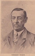 POLITIQUE . Président WILSON  Portrait Par Manuel - Personnages