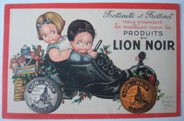 Frottinette Et Frottinet Présentent Les Vœux Des Produits Du Lion Noir. - Mallet, B.
