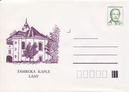 J0856 -Cecoslovacchia (1992) Interi Postali / Presidente Vaclav Havel: Lany - Cappella Del Castello - Famous People