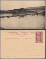 Congo Belge  - Entier Postal Nr. 35 - Est Africain Allemand-Occupation Belge- Traversée De La Ruwuwu (DD) DC1766 - Postwaardestukken
