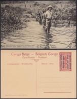 Congo Belge - Entier Postal Nr. 37 - Est Africain Allemand-Occupation Belge- Les Marais De La Kagera (DD) DC1767 - Entiers Postaux