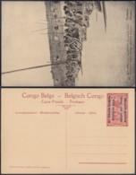 Congo Belge  - Entier Postal Nr. 40 - Est Africain Allemand-Occupation Belge- Porteurs  (DD) DC1769 - Postwaardestukken