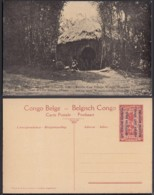 Congo Belge  - Entier Postal Nr. 42 - Est Africain Allemand-Occupation Belge- Entrée D'un Village Watuzi  (DD) DC1770 - Postwaardestukken